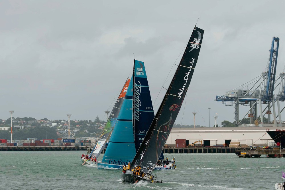 Volvo Ocean Race stop over Auckland, New Zealand, March 2012 (Photo Credit Must Read: PAUL TODD/Volvo Ocean Race)