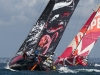 PUMA Ocean Racing powered by BERG and CAMPER with Emirates Team New Zealand competing in the Bretagne In-Port Race, in Lorient, France, during the Volvo Ocean Race 2011-12. (Credit: IAN ROMAN/Volvo Ocean Race)