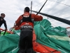 Groupama Sailing Team during leg 5 of the Volvo Ocean Race 2011-12, from Auckland, New Zealand to Itajai, Brazil. (Credit: Yann Riou/Groupama Sailing Team/Volvo Ocean Race)