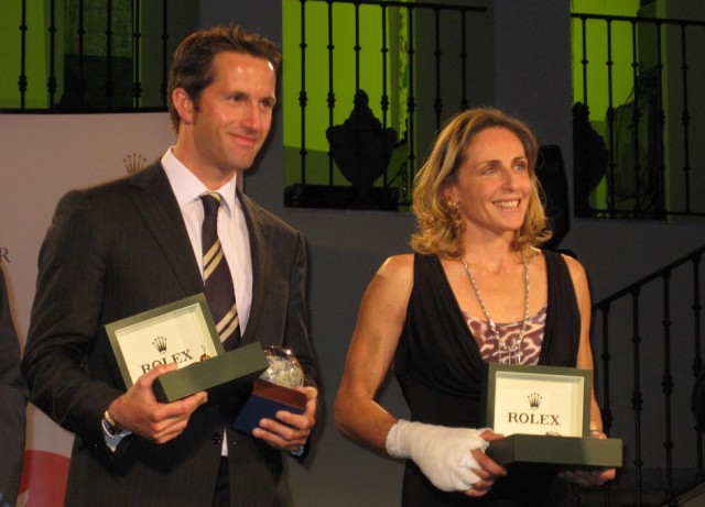 Sensini e Ainslie ISaF Rolex World Sailor of the Year 2008