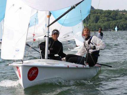 Giulia Conti e Giovanna Micol campionesse d'Europa 470
