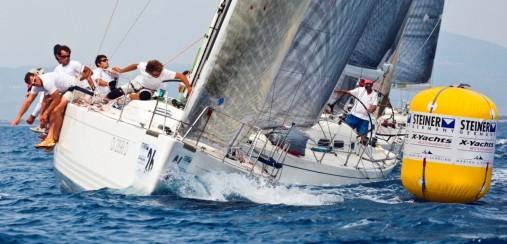Steiner X Yachts Cup flotta degli X-41 (Foto Trombetta_Studio Borlenghi)