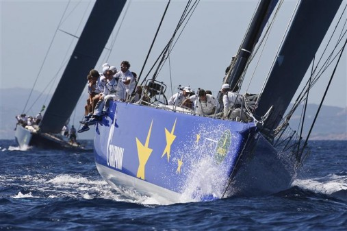 ESIMIT EUROPA 2, Sail n: SLO 1001, Owner: Igor Simcic, Class: Maxi Racing