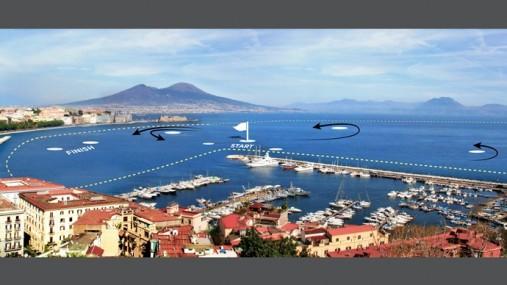 Napoli campo di regata america's cup