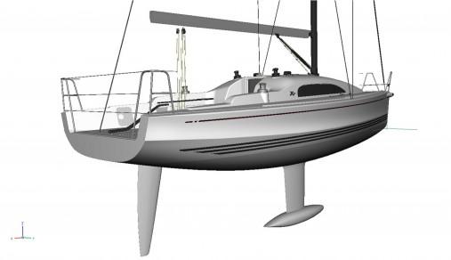 x yachts Xp33 esterni