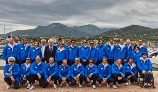 Nazionale olimpica vela olimpiadi londra 2012