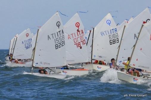 Spagnolli e Duchi vincitori a Senigallia della Coppa AICO e Coppa Touring, II tappa Trofeo Optimist Kinder + Sport