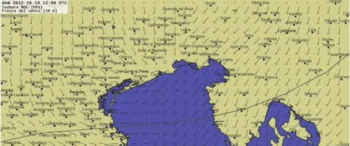 previsione vento barcolana 2012